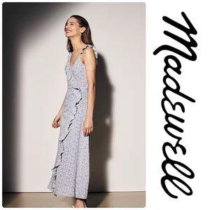 Madewell Ruffled faux Wrap Maxi Dress